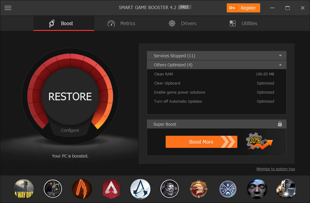 Smart Game Booster 5.2.0.863 Crack With Key [Latest] 2021 Free