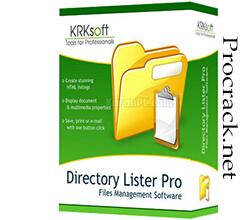 Directory Lister Pro 2.42 Enterprise + Crack Free Download [Latest]