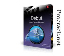 Debut Video Capture Pro 7.39 Crack With Registration Code [2021]